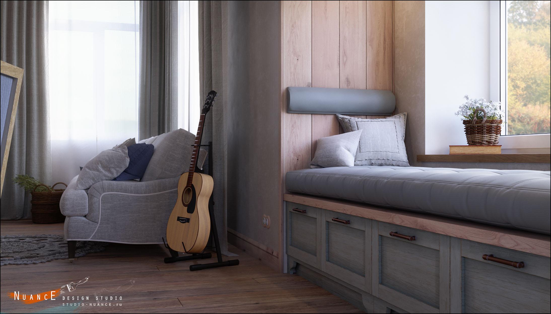 заказать дизайн интерьера гостиной комнаты стиль прованс кантри лофт